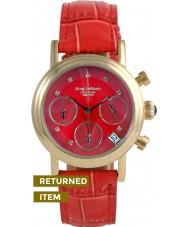 Krug-Baumen 150588DL Enterprise Diamond Red-Gold Dial