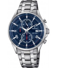 Festina F6853-3 Mens Silver Chronograph Watch