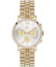 Orla Kiely OK4000 Ladies Frankie Chronograph Hamilton Gold Plated Watch
