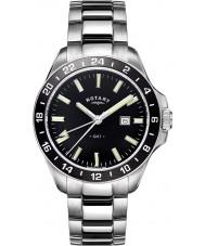 Rotary GB05017-04 Mens Timepieces Havana Silver Tone Steel Watch