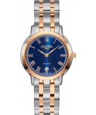 Roamer 515811-49-42-50 Ladies Superslender Two Tone Steel Bracelet Watch