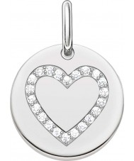 Thomas Sabo LBPE0005-051-14 Ladies Love Bridge 925 Sterling Silver Pendant