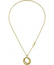 Calvin Klein KJ0EJP100100 Ladies Continue Gold Plated Pendant Necklace