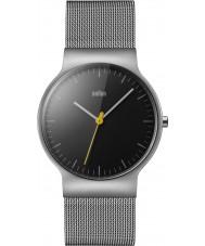 Braun BN0211BKSLMHG Mens Classic Slim Silver Steel Mesh Bracelet Watch