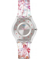 Swatch SFE102 Ladies Skin - Jardin Fleuri Watch