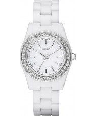 DKNY NY8145 Ladies Chambers White Watch