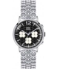 Orla Kiely OK4001 Ladies Frankie Chronograph Silver Tone Watch
