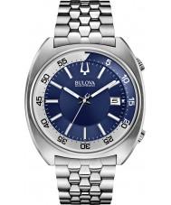 Bulova 96B209 Mens BA II Silver Steel Bracelet Watch
