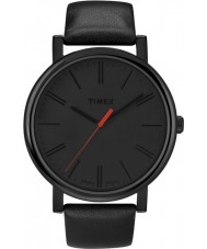 Timex T2N794 Mens Black Classic Round Watch