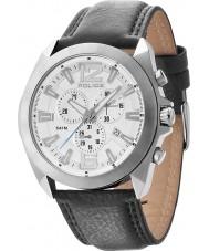 Police 14104JS-04 Mens Ranger II Black Leather Strap Watch