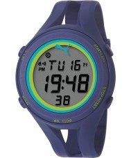 Puma PU911171004 Air III Blue Silicone Strap Chronograph Watch