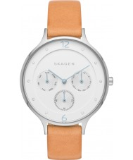Skagen SKW2449 Ladies Anita Light Brown Leather Strap Watch