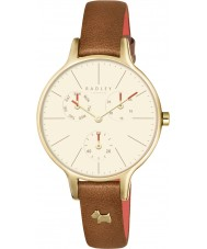 Radley RY2412 Ladies Wimbledon Ruby Leather Chronograph Watch
