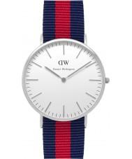 Daniel Wellington DW00100015 Mens Classic 40mm Oxford Silver Watch