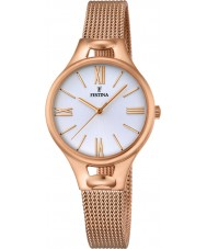Festina F16952-1 Ladies Mademoiselle Rose Gold Plated Bracelet Watch