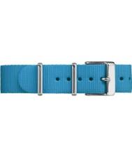 Timex TW7C07400 Weekender Fairfield Blue Nylon Strap