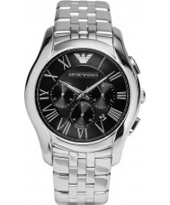 Emporio Armani AR1786 Mens Classic Chronograph Silver Steel Bracelet Watch