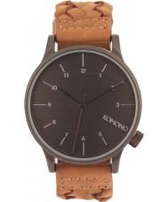 Komono KOM-W2031 Mens Winston Woven Chestnut Watch