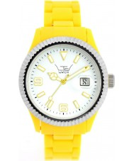 LTD Watch White Yellow Watch