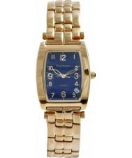 Krug Baümen 1964KM-G Mens Tuxedo Blue Gold Watch