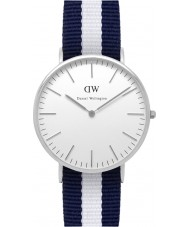 Daniel Wellington DW00100018 Mens Classic 40mm Glasgow Silver Watch