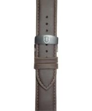 Elliot Brown STR-L07 Mens Canford-Bloxworth Matt Dark Brown Leather Strap