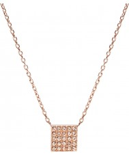 Fossil JF02261791 Ladies Vintage Glitz Rose Gold Plated Necklace