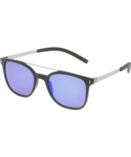 Police Mens Wager 1 SPL169-U28B Matt Black Polarized Sunglasses