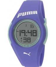 Puma PU911191002 Tonic Iris Blue Silicone Strap Watch