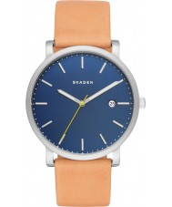 Skagen SKW6279 Mens Hagen Light Brown Leather Strap Watch