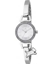 Radley Ladies Aldgate Silver Stee Half Bangle Watch