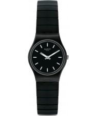 Swatch LB183B Ladies Flexiblack Watch