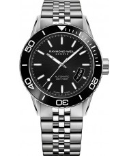 Raymond Weil 2760-ST1-20001 Mens Freelancer Diver Silver Steel Bracelet Watch