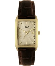 Rotary GS02819-03 Mens Champagne Brown Watch