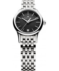 Maurice Lacroix LC1113-SS002-330 Ladies Les Classiques Black and Steel Watch