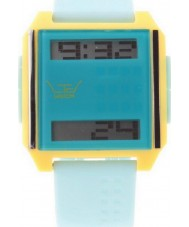 LTD Watch Blue Yellow Mix and Match Digital Watch