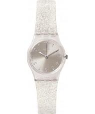 Swatch LK343E Ladies Silver Glistar Too Watch