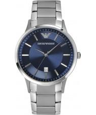 Emporio Armani AR2477 Mens Classic Blue Silver Watch