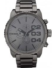 Diesel DZ4215 Mens Double Down All Gunmetal Chronograph Watch