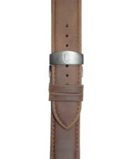 Elliot Brown STR-L08 Mens Canford-Bloxworth Matt Mid Brown Leather Strap