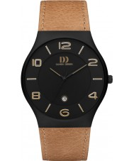 Danish Design Q27Q1106 Mens Tan Leather Strap Watch