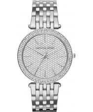 Michael Kors MK3437 Ladies Darci Stone Set Silver Tone Watch