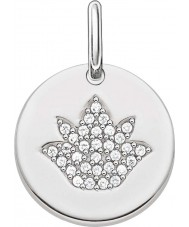 Thomas Sabo LBPE0006-051-14 Ladies Love Bridge 925 Sterling Silver Pendant