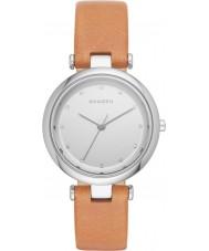 Skagen SKW2455 Ladies Tanja Light Brown Leather Strap Watch