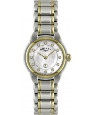 Rotary LB02602-41L Ladies Timepieces Two Tone Watch