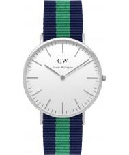 Daniel Wellington DW00100019 Mens Classic 40mm Warwick Silver Watch