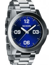 Nixon Mens Corporal SS Blue Sunray Watch