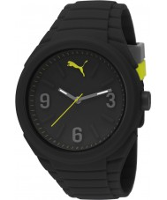 Puma PU103592001 Gummy Black Silicone Strap Watch