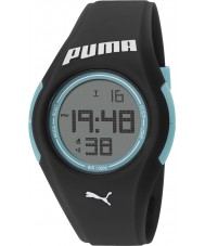 Puma PU911191003 Tonic Black Silicone Strap Watch