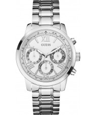 Guess W0330L3 Ladies Sunrise Silver Steel Bracelet Watch